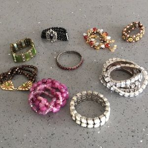 Jewelry - Bundle of Elastic Bracelets
